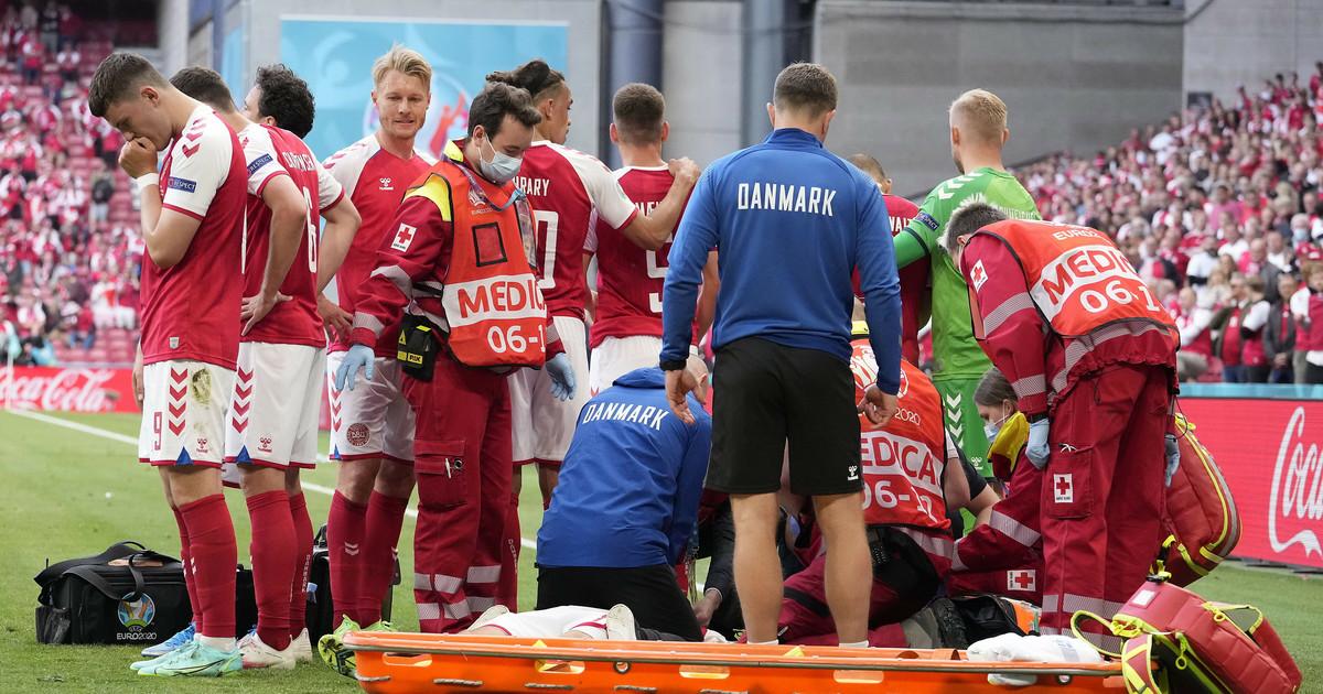 Euro 2020. Christian Eriksen reanimowany na murawie