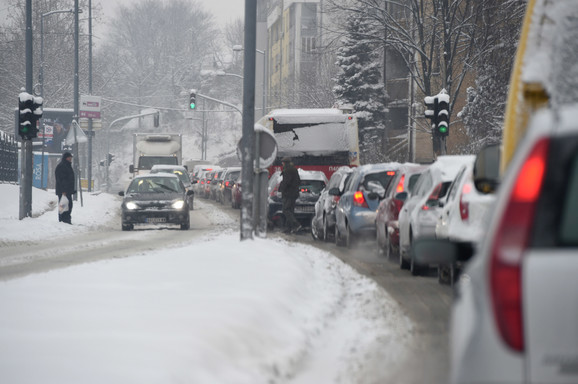 Ledeni talas bio najkritičniji za vozače