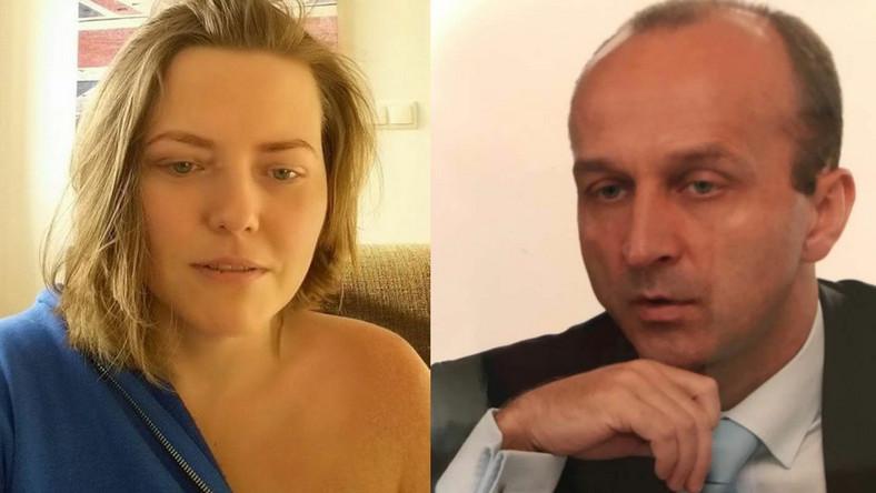 Izabela Olechowicz, Kazimierz Marcinkiewicz