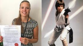 Zmieniła nazwisko na Skywalker. Odmówiono jej wydania paszportu