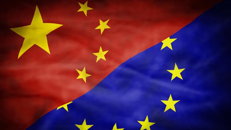 Chiny UE flagi