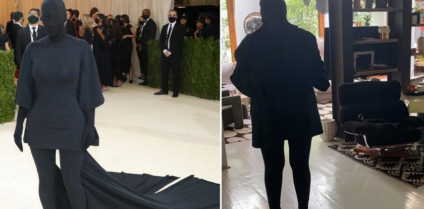 Katarzyna Nosowska sparodiowała strój Kim Kardashian z Met Gali 2021. Maja Sablewska: Kocham