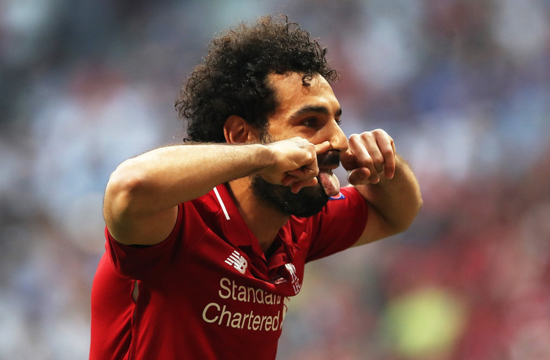 Mohamed Salah scored for Liverpool in Champions League final, result Tottenham Hotspur (AFP)