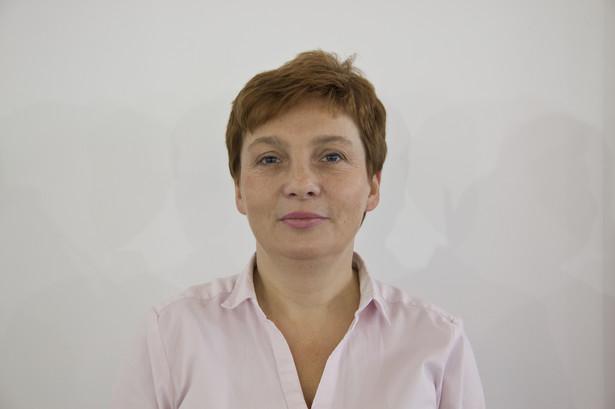 Beata Podleś, doradca MPS, oddział PKO Banku Polskiego w Warszawie