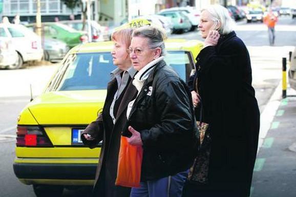 Ljubinka Đukić, sestra ubijene Ljiljane, u Mileševskoj ulici