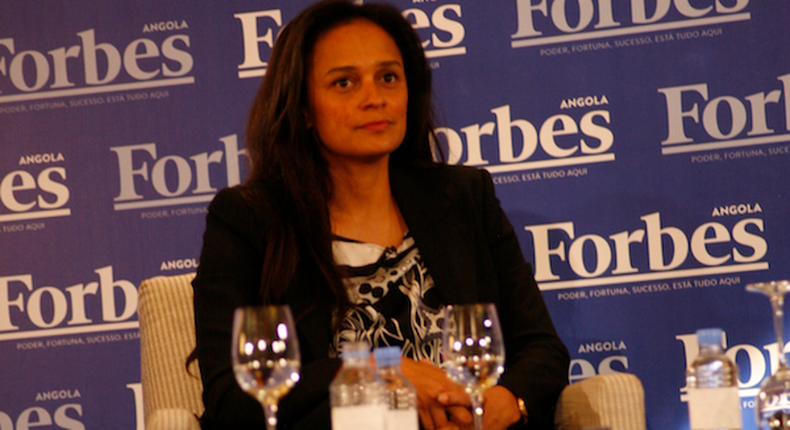 Angolan billionaire Isabel dos Santos