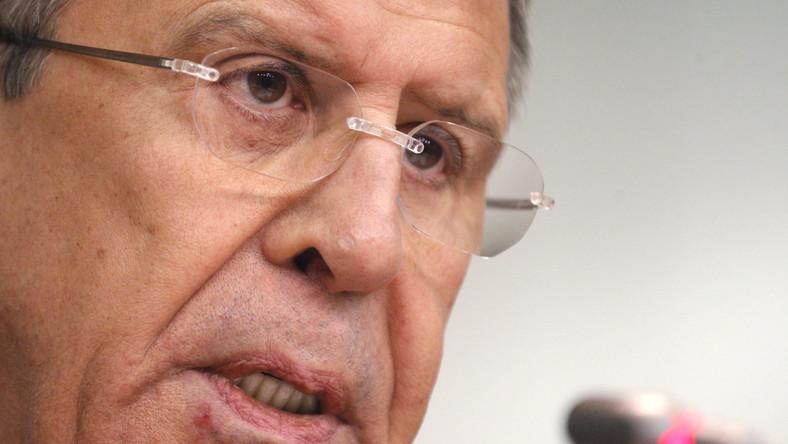 Siergiej Ławrow apeluje do USA: Zamiast dyktatu, współpraca