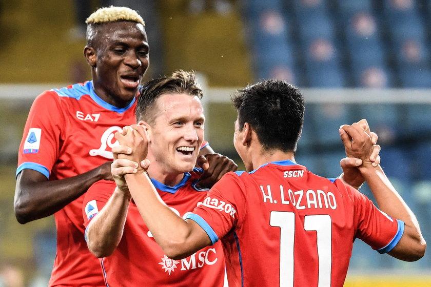 Piotr Zieliński (27 l.) pierwszy raz od momentu wyleczenia kontuzji zagrał w podstawowym składzie SSC Napoli.