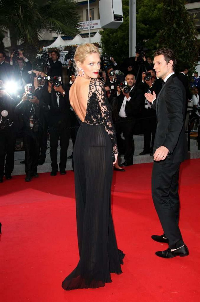 Anja Rubik w Cannes