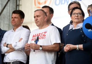 Schetyna o 'Marszu Wolności': Idziemy do wolności i wygranych wyborów