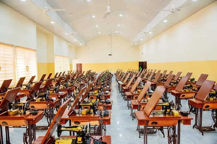 The skill acquistion centre was commissioned in Ondo State on Friday, October 2, 2020
