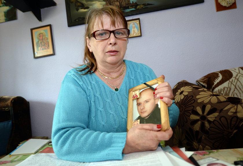 Krystyna Nowak straciła syna 6 lat temu