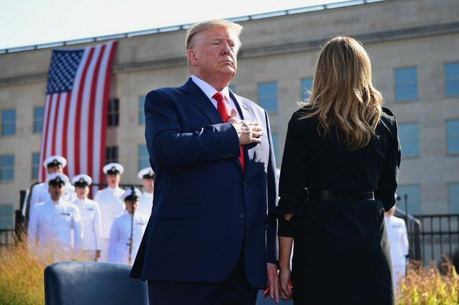 Melanija i Donald Tramp u Vašingtonu