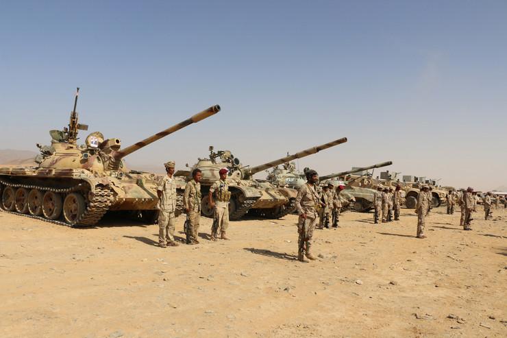 Saudijska Arabija vojska EPA STR