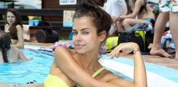 Polskie gwiazdy na basenie