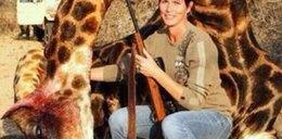 Turystka zabiła żyrafę! Spotkała ją kara!