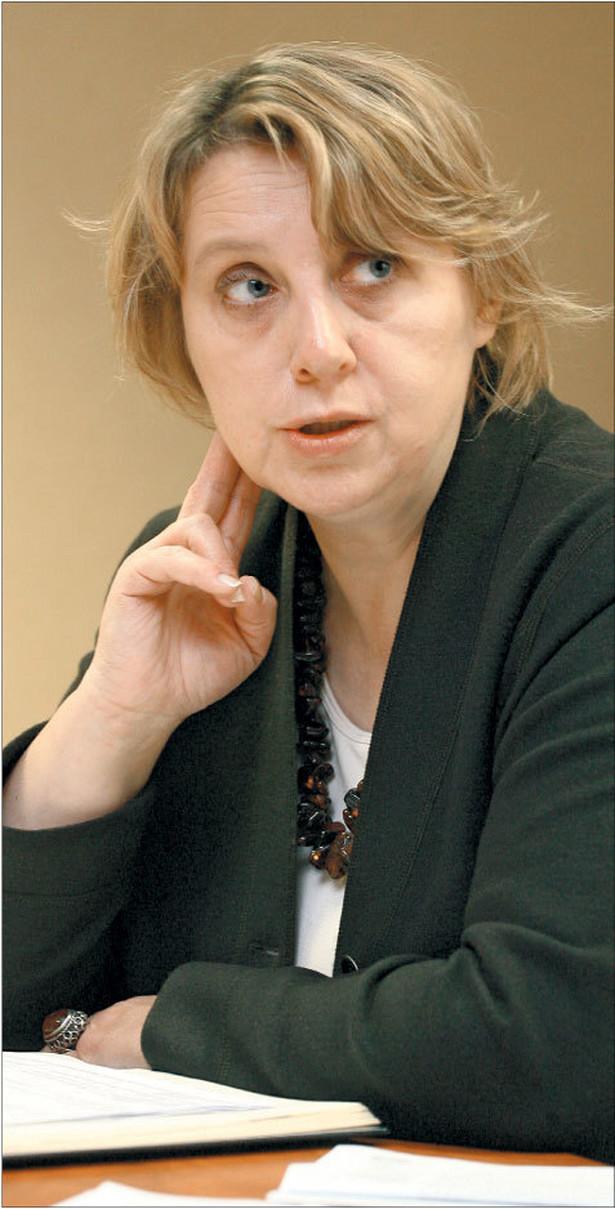 Danuta Jabłońska, były dyrektor Departamentu Zarządzania Programem Wzrostu Konkurencyjności Gospodarki oraz Departamentu Rozwoju Gospodarki w Ministerstwie Gospodarki Fot. Marek Matusiak