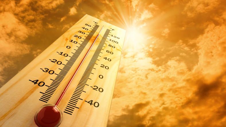 Termomentr gorąco upał