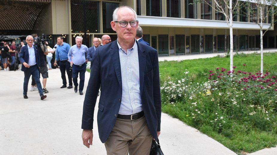 Były prezes telewizji publicznej i obecny poseł Lewicy Robert Kwiatkowski.