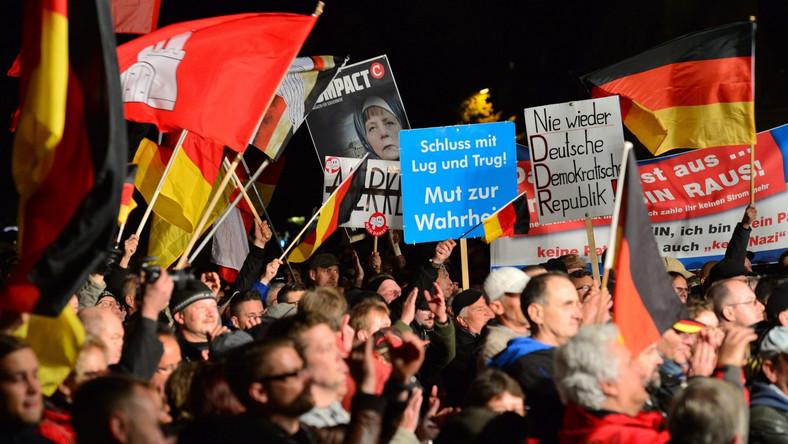 Wiec antyimigranckiej Alternatywy dla Niemiec