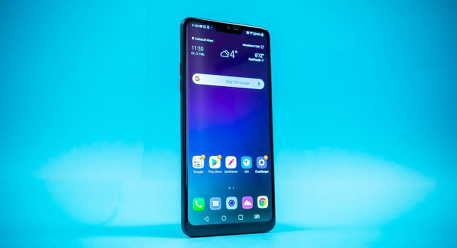 LG G7 Fit im Test: helles Display, dunkle Kamera