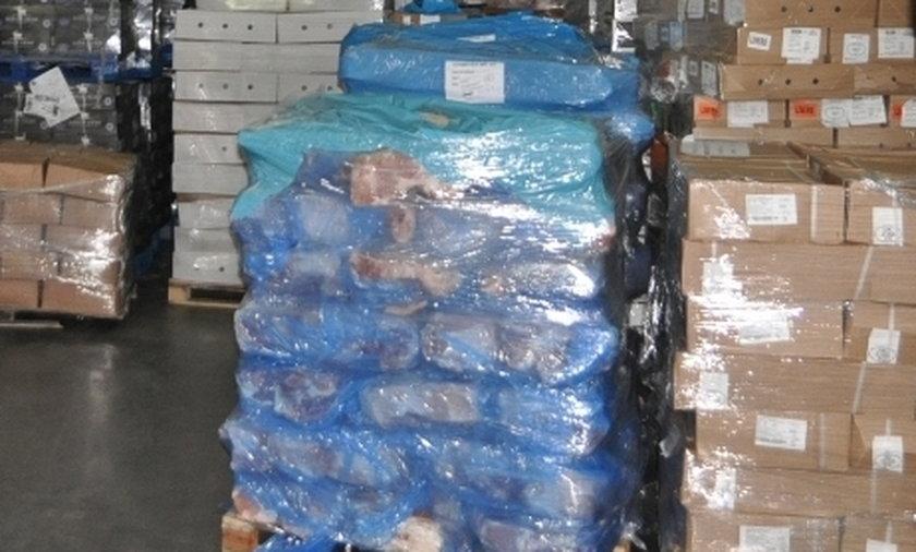 200 ton lewego mięsa