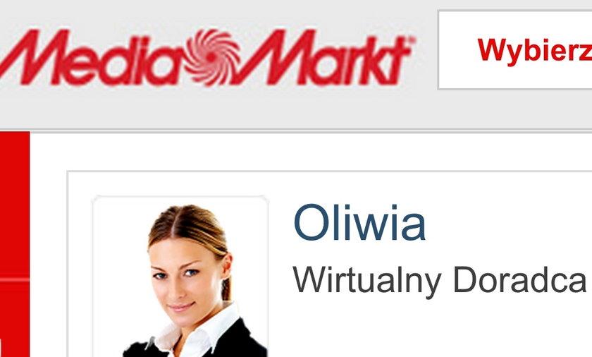 Tajemnicza Oliwia z Media Markt.