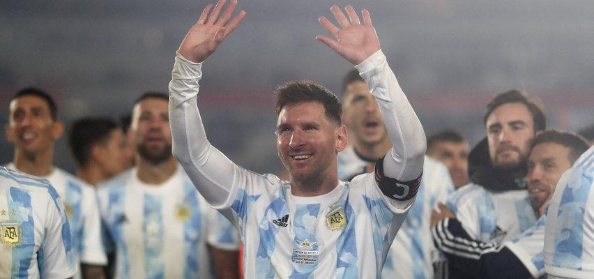 Messi najpierw się cieszył, a chwilę potem zalał się łzami (WIDEO)