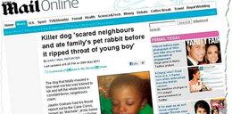 Pies rozszarpał dziecko na oczach rodzeństwa