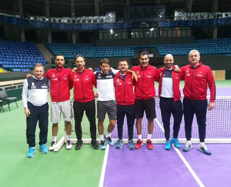 Dejvis kup, Srbija, Teniseri