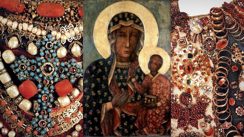 Suknie Cudownego Obrazu Matki Boskiej Jasnogórskiej