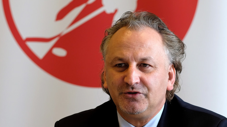 Prezes PZHL Mirosław Minkina