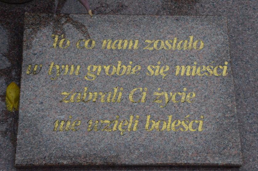 Grób Mieczysława Poźniaka