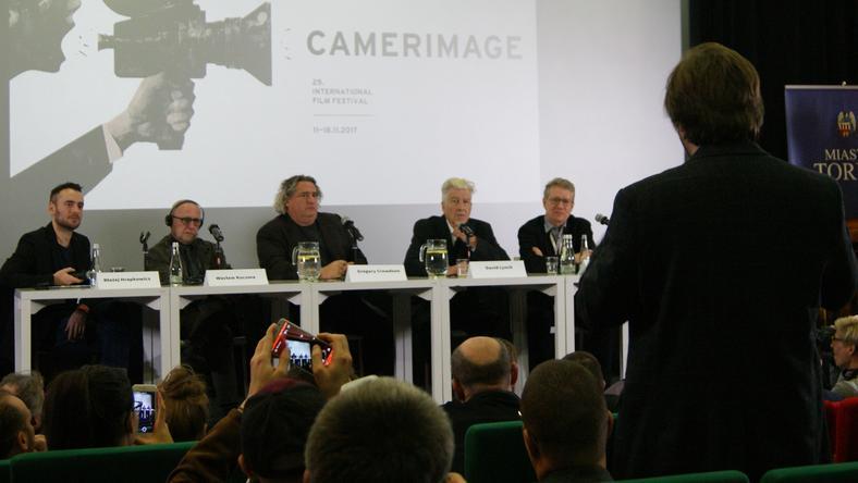 Gościem specjalnym ostatniego festiwalu Camerimage był reżyser David Lynch