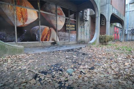 Mesto na kom je maloletnik zapalio beskućnika u Novom Sadu