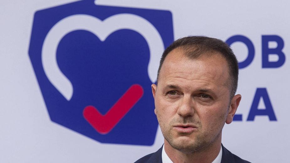 Nominacja dla Kamila Zielińskiego stała się początkiem konfliktu w dolnośląskim PiS