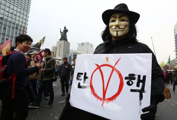 Korea Południowa, protesty przeciwko prezydent Park