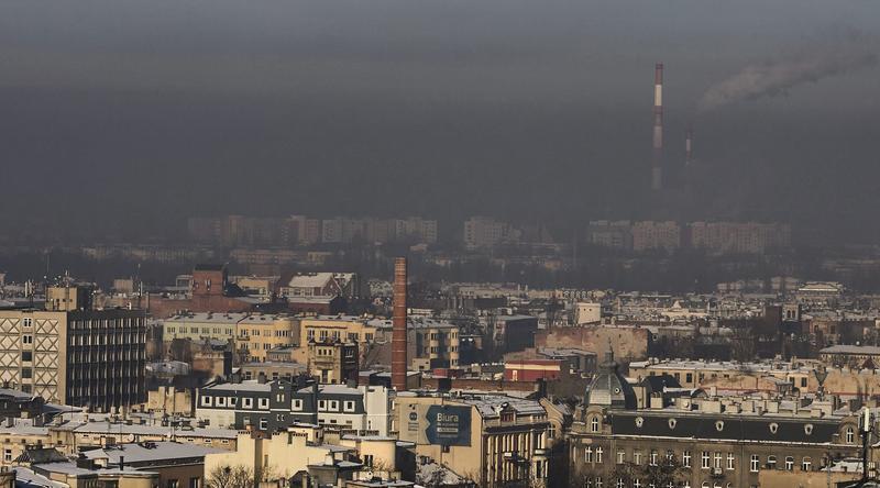 Smog w Łodzi