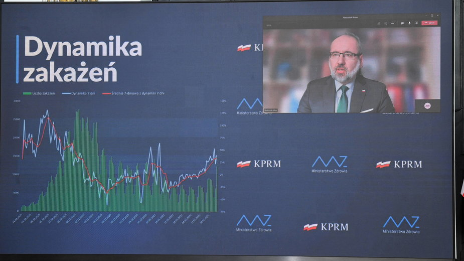 Podczas środowej konferencji minister Adam Niedzielski poinformował o nowych obostrzeniach