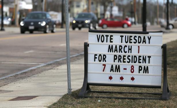 Superwtorek w USA: Prawybory prezydenckie