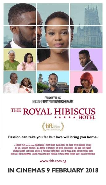 "Romantic comedy from EbonyLife Films in 2018, ""The Royal Hibiscus Hotel"""