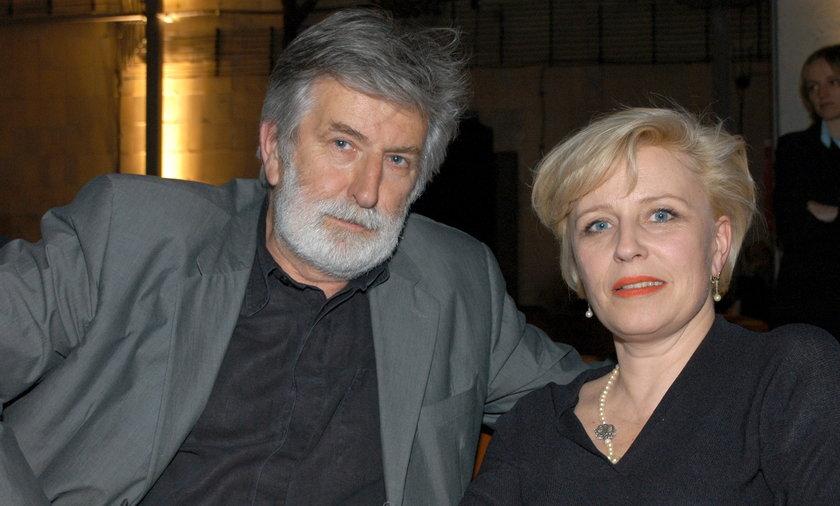 Krystyna Janda i Edward Kłosiński