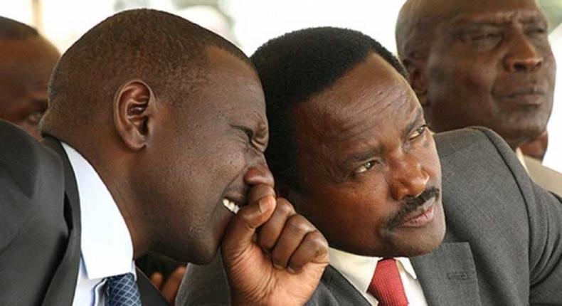 Deputy President William Ruto and Wiper leader Kalonzo Musyoka