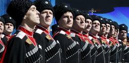 Rosyjscy kozacy zbliżają siędo polskiej granicy
