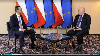 Morawiecki: Dla KE powinno być jasne, że nie możemy do niczego zmusić Sądu Najwyższego