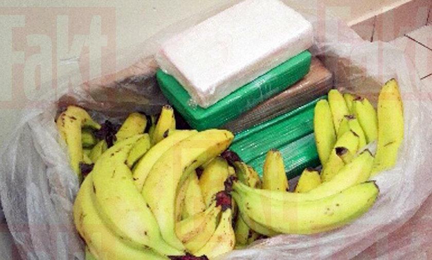 Sokołów Podlaski. Kokaina w kartonach z bananami w sieci stokrotka