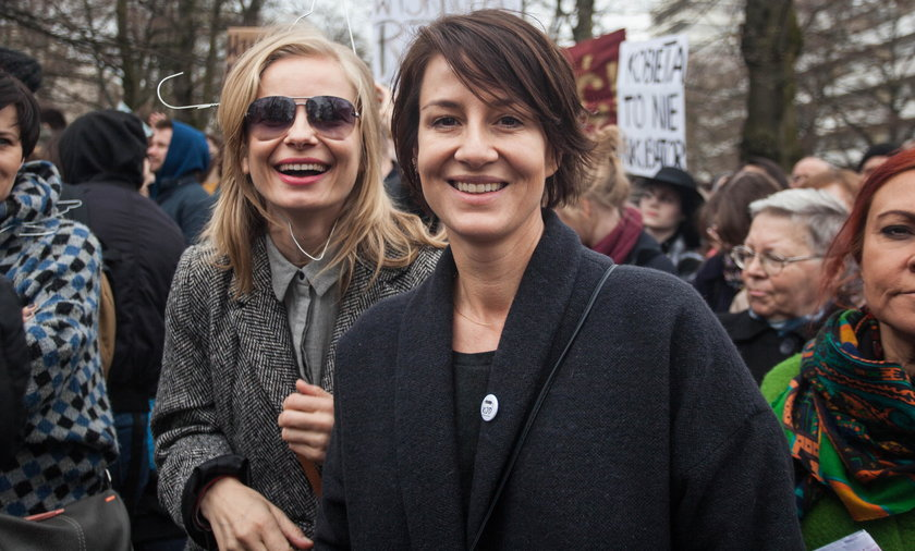 Magdalena Cielecka i Maja Ostaszewska