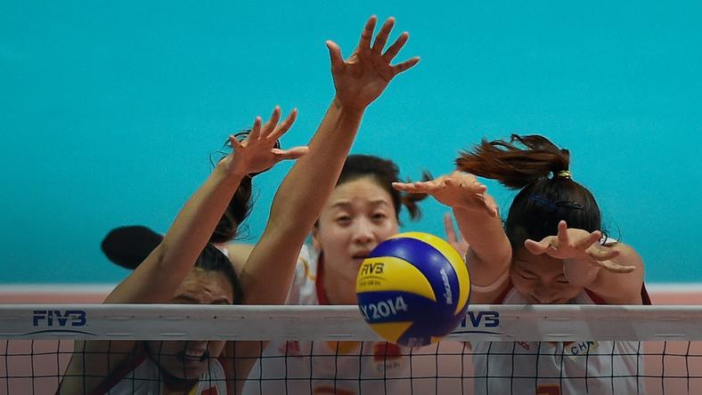 Siatkarki reprezentacji Chin