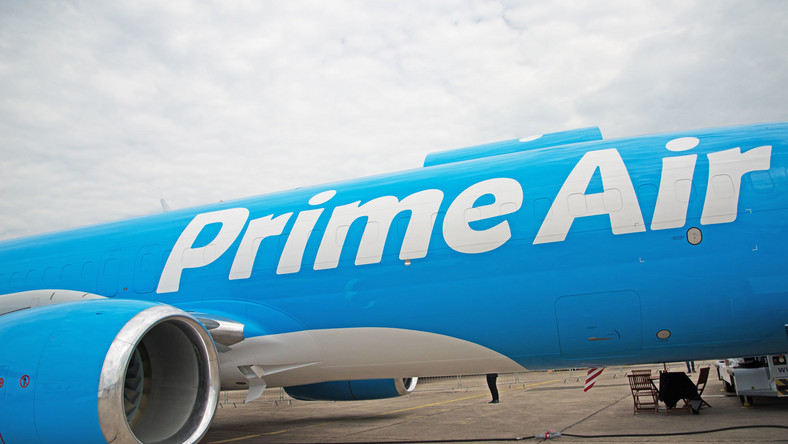 Take a look inside an Amazon Air Boeing 737, the latest weapon in