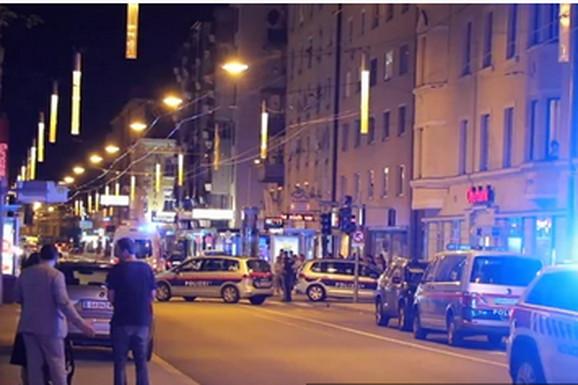 50 SRBA SE TUKLO USRED BEČA Opšti haos nakon porodične večere, policajci tražili pojačanje i ZATVORILI ULICU